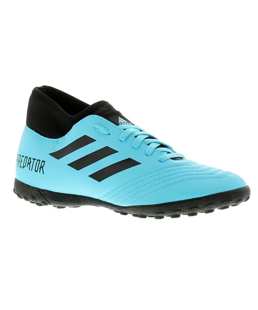 Image for Adidas Performance predator 19.4 s tf j boys trainers blue