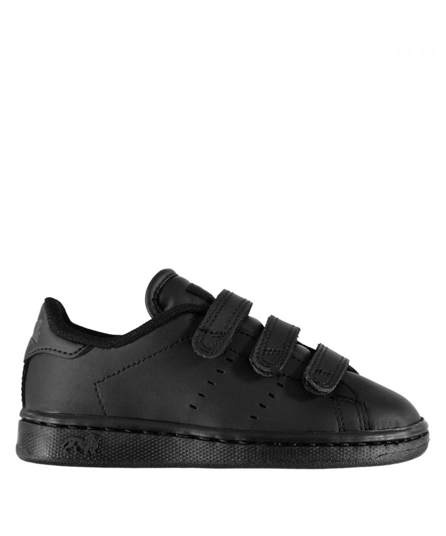 Image for Lonsdale Kids Leyton Childrens Trainers Boys Sport Casual Shoes Footwear