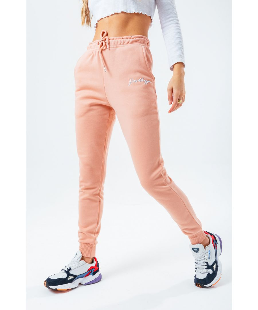 Image for Hype Pink Scribble Women'S Joggers