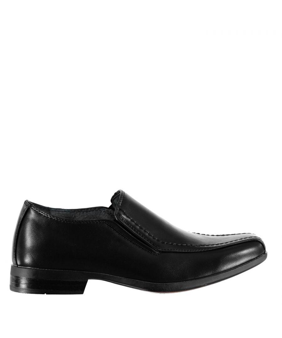 Image for Giorgio Kids Bourne Slip On Boys Shoes Formal Classic Design Slight Heel