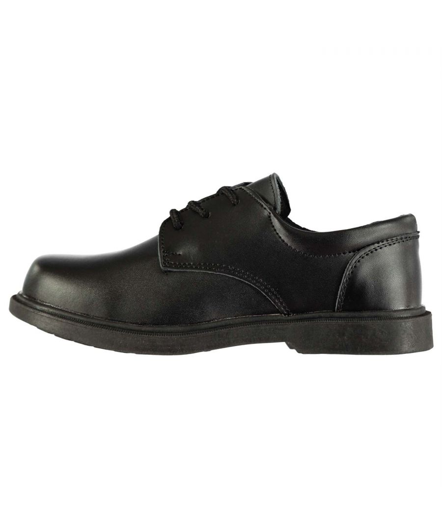 Image for Lee Cooper Kids Boys Homer Leather Shoes Lace Up