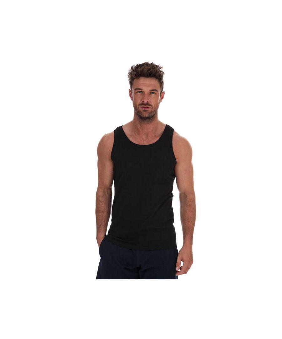 Image for Men's Russell Athletic Singlet Vest in Black