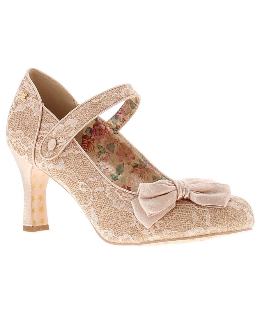 Image for Joe Browns Couture divine womens ladies occasion shoes beige