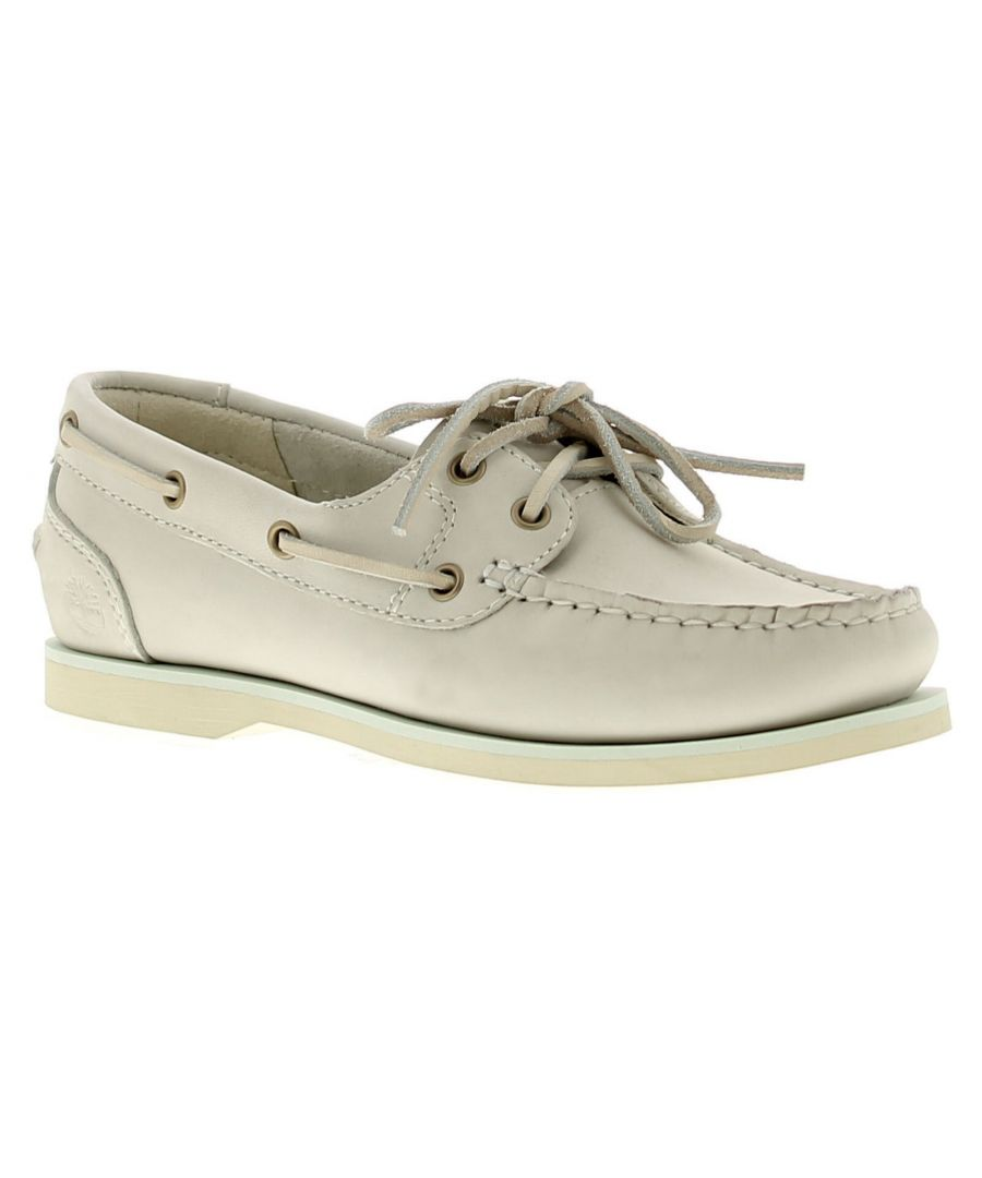 Image for Timberland Tmbl A1Nax Womens Ladies Flats Shoes Beige