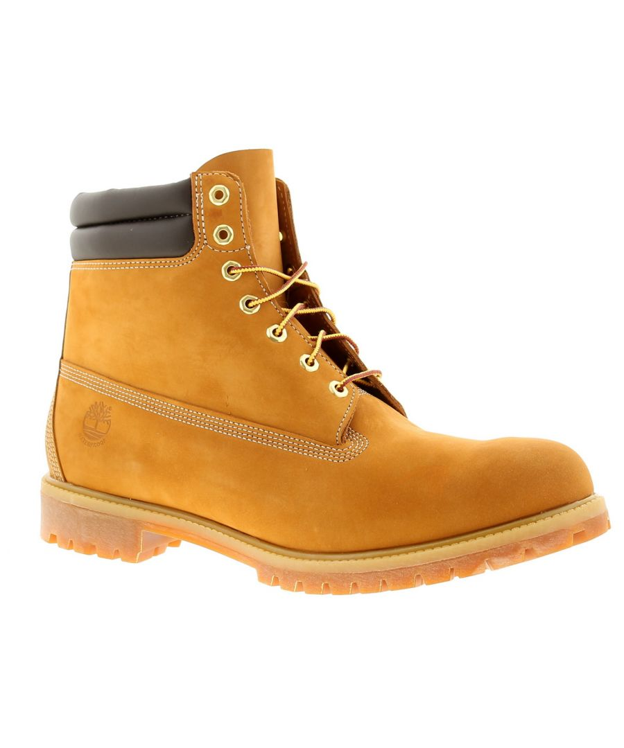 Image for Timberland classic leather mens boots wheat