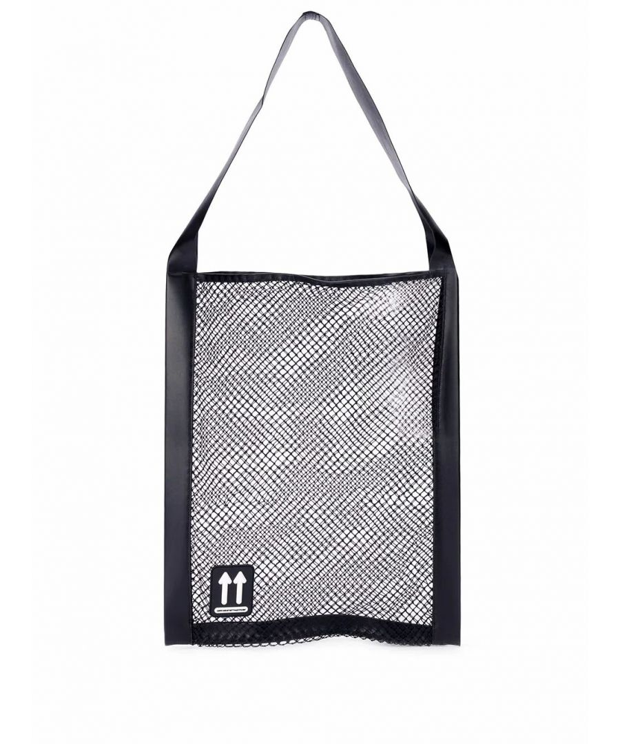 Image for OFF-WHITE WOMEN'S OWNA107R20H530681000 BLACK POLYAMIDE TOTE