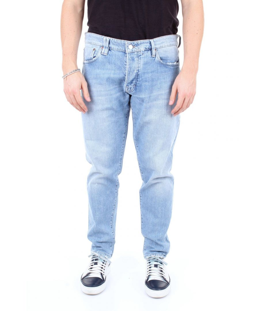 Image for CYCLE MEN'S BESTL056JEANSCHIARO BLUE COTTON JEANS