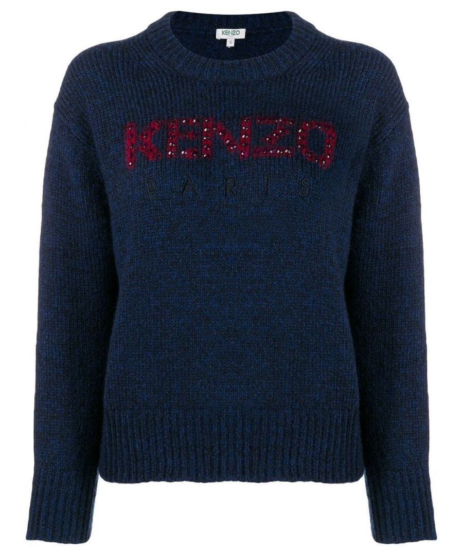 Image for KENZO WOMEN'S F962TO60080976 BLUE POLYAMIDE SWEATER