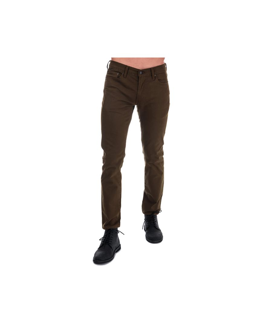 Image for Men's Levis 511 Slim Fit Jeans in Green