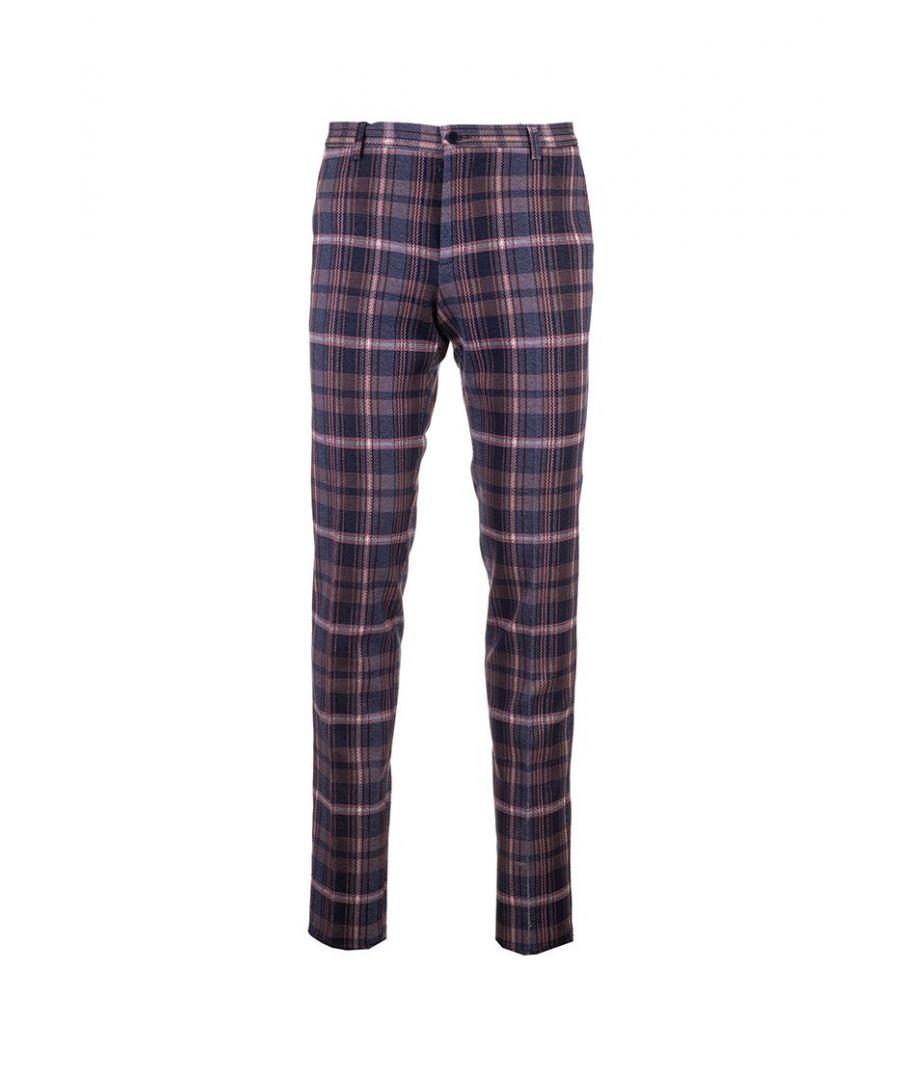 Image for ETRO MEN'S 1W00012140200 MULTICOLOR COTTON PANTS