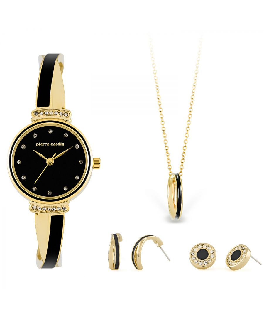 Image for Pierre Cardin Gift Set Watch & Necklace & Earrings PCX6855L297