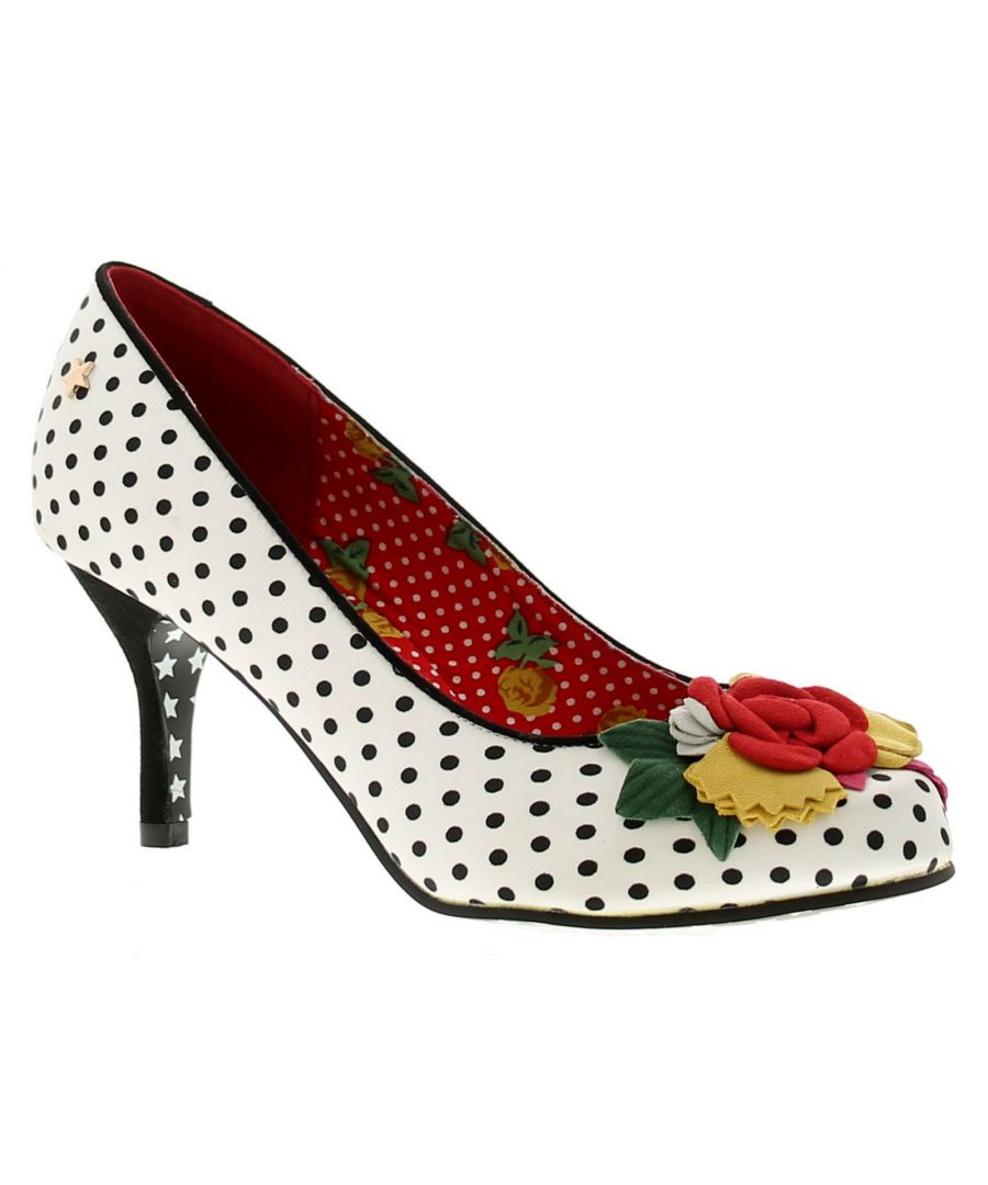 Image for Joe Browns Couture Meryl Womens Occasion Shoes Black/White/Multi