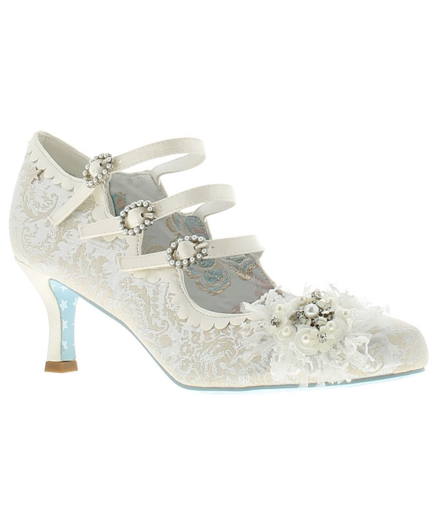 Image for Joe Browns Couture cinderella womens ladies occasion shoes white