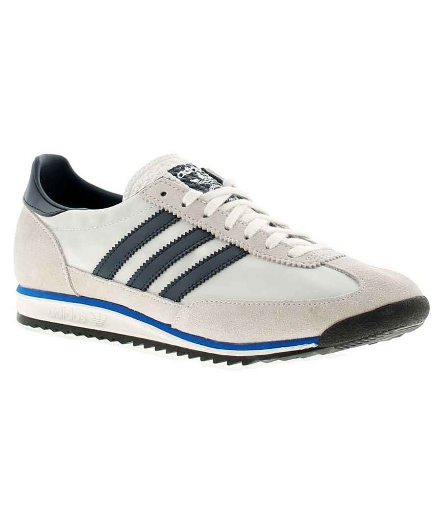 Image for Adidas Originals sl72 mens trainers white