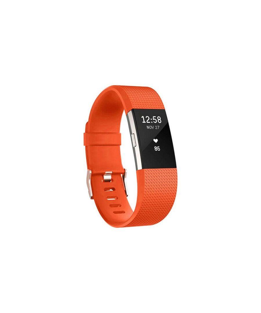 Image for Aquarius Fitbit Charge 2 Classic Replacement Straps Orange