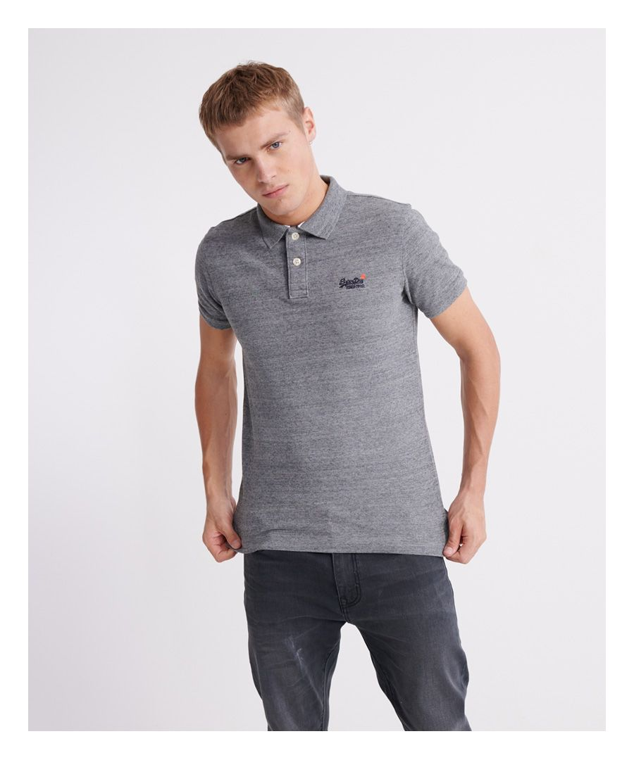 Image for Superdry Organic Cotton Classic Pique Polo Shirt