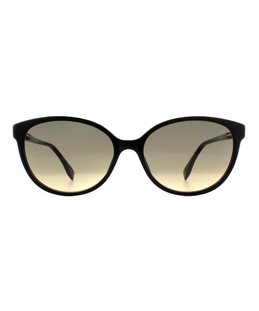 Image for Fendi Sunglasses FF 0373/S 807 GA Black Brown Ochre