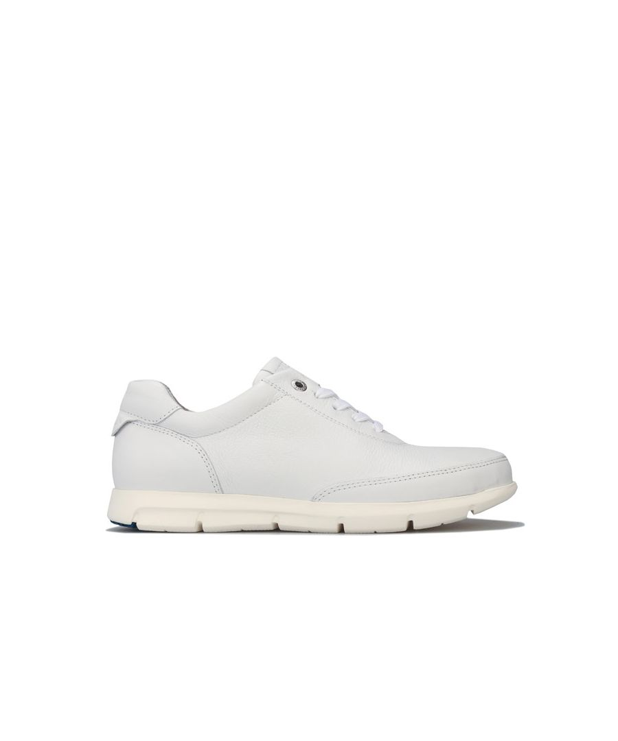 Image for Women's Birkenstock Manitoba Leather Trainers Narrow in White