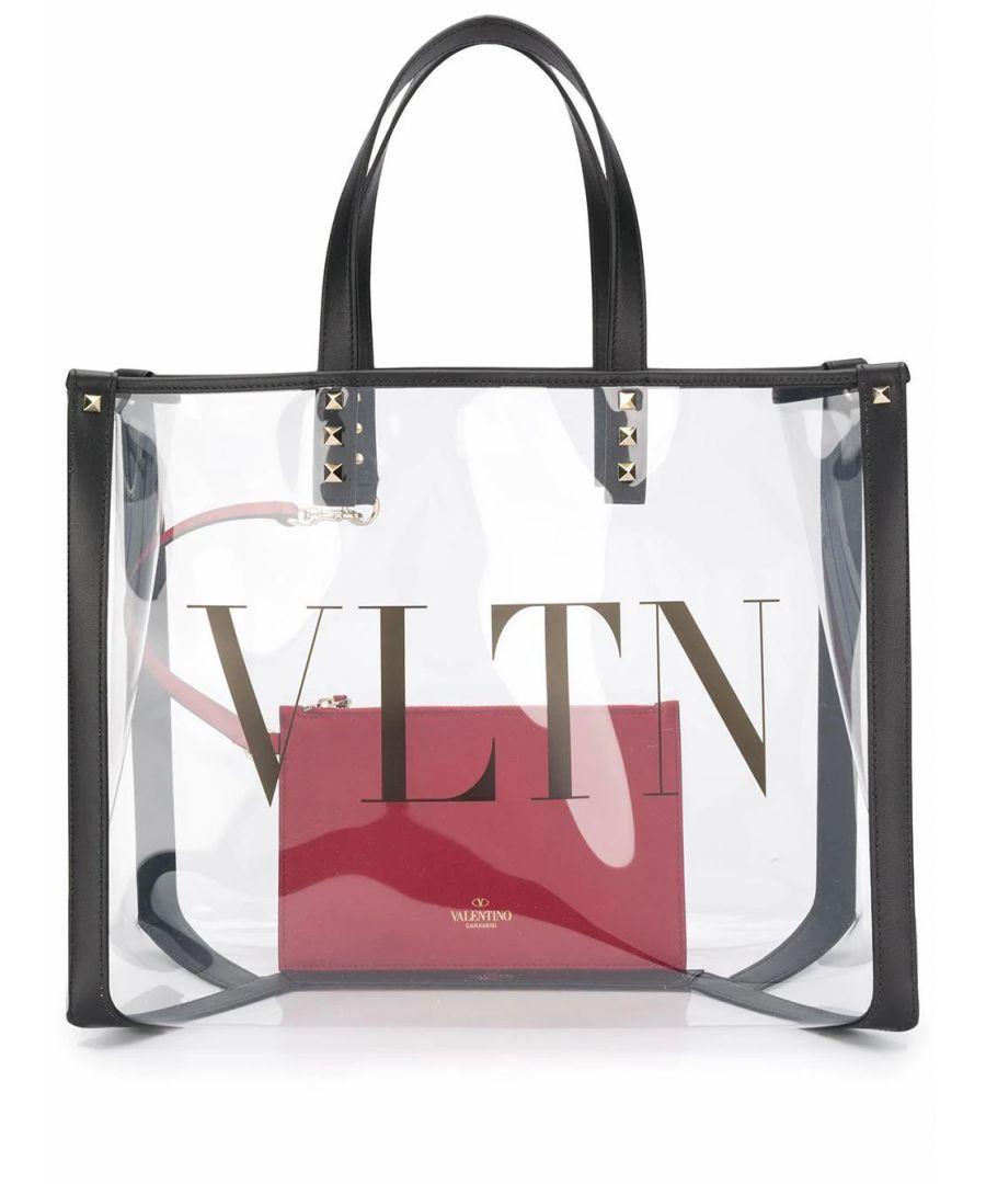 Image for VALENTINO WOMEN'S TW2B0D21MCE2P0 WHITE PVC HANDBAG