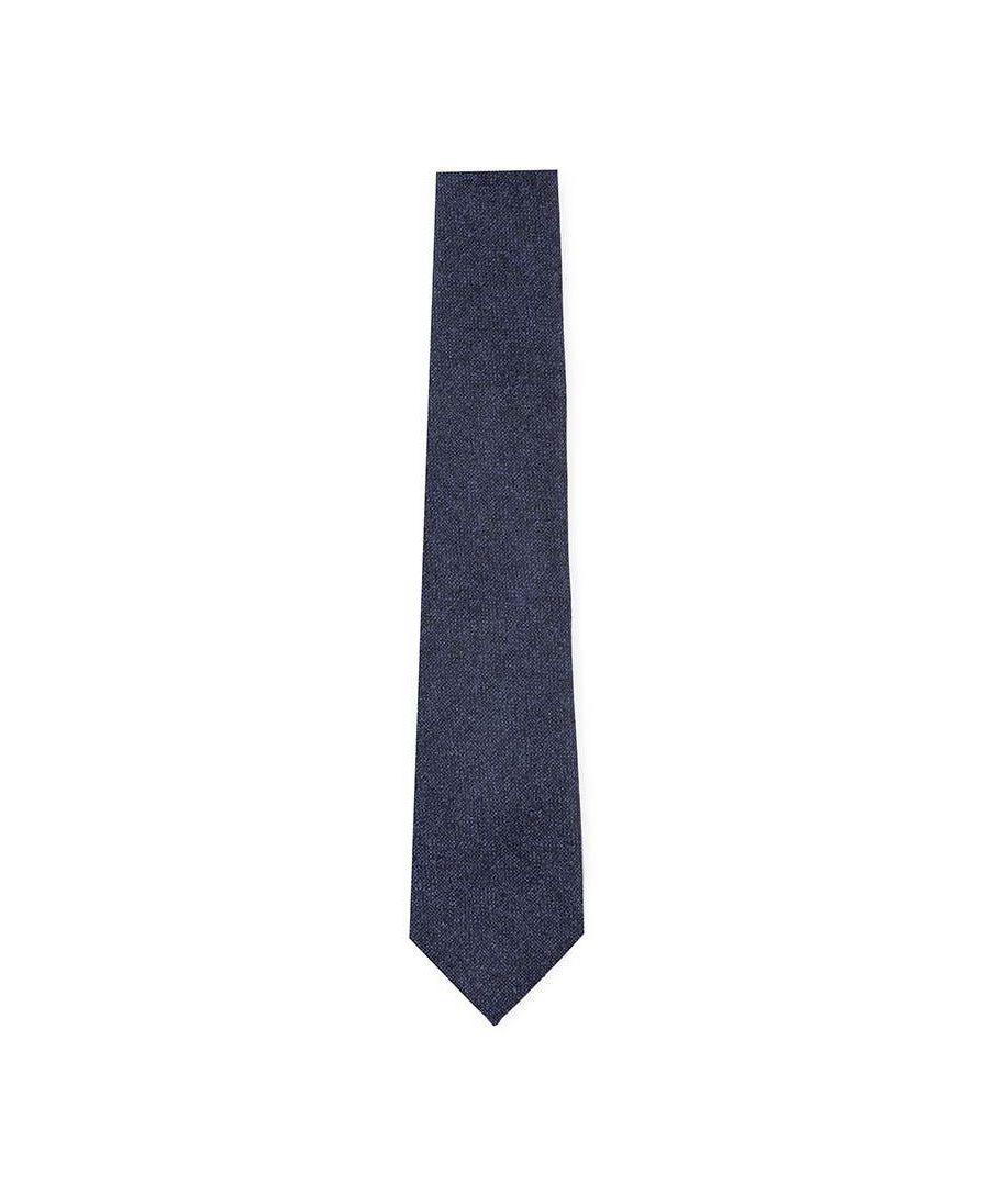 Image for Men's Hackett Flannel 1 Tie in Navy