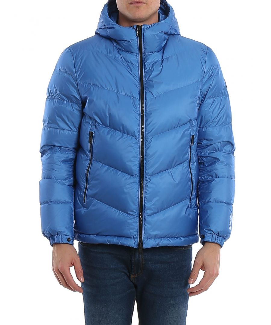 Image for WOOLRICH MEN'S WOOU0178MRUT1285302 BLUE POLYAMIDE DOWN JACKET