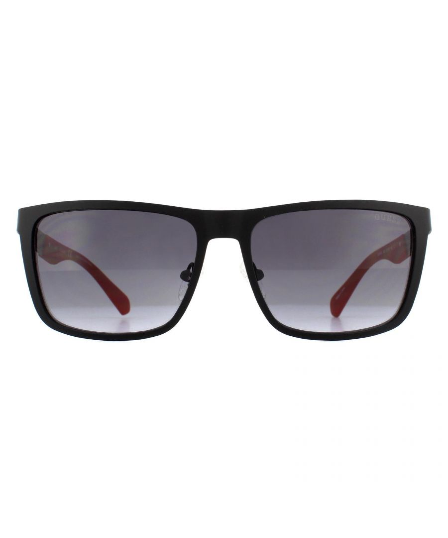 Image for Guess Sunglasses GU6842 05B Matte Black Grey Gradient