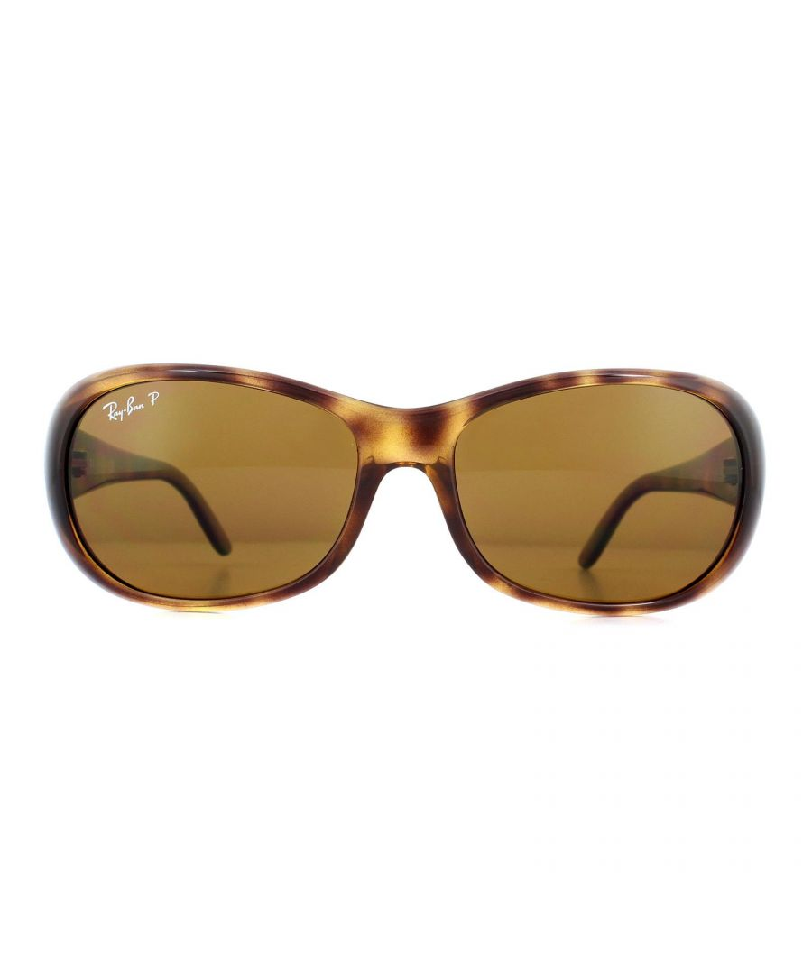 Image for Ray-Ban Sunglasses RB4061 642/57 Havana Brown Polarized