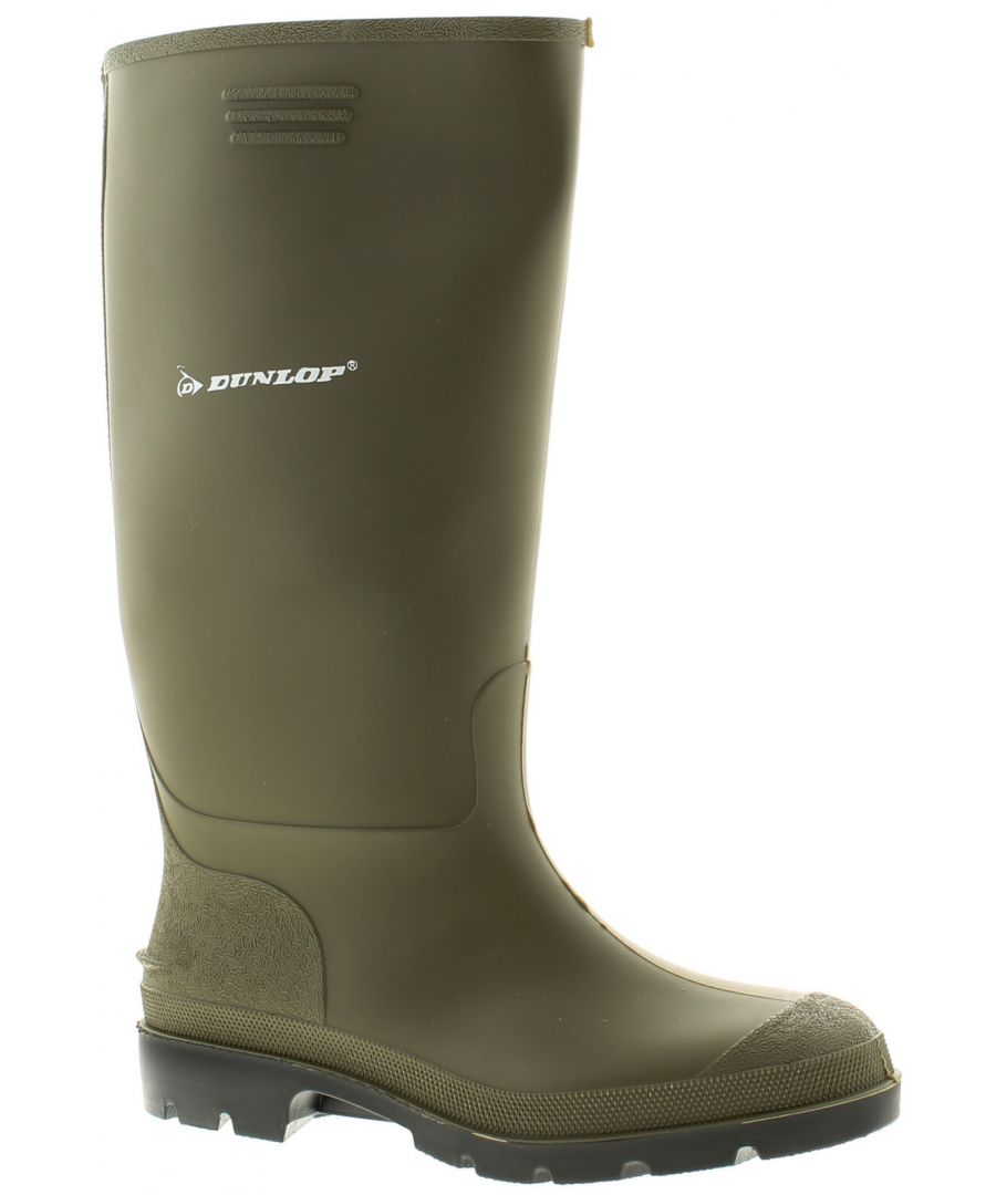 Image for Dunlop Welly Mens Wellies Wellington Green