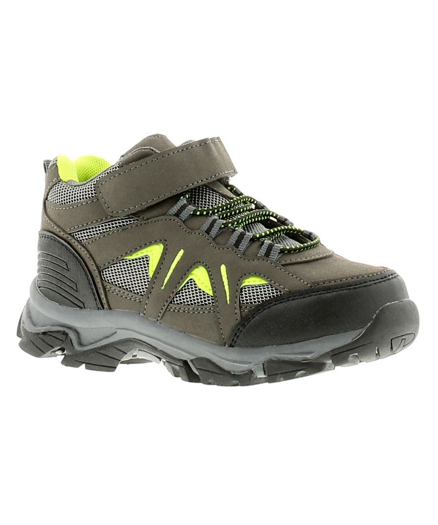 Image for Childrens Kids Touch Close Hiker Outdoor Trek Trail Shoe