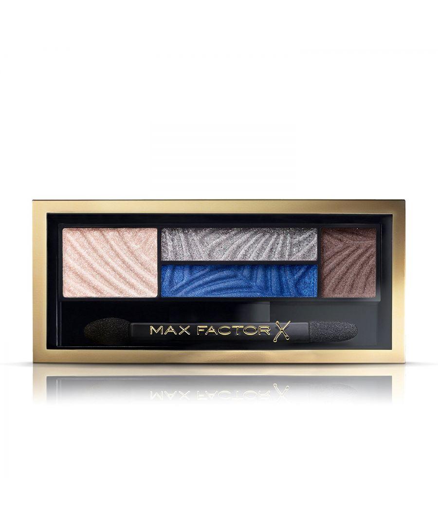 Image for Max Factor Smokey Eye Drama Kit Eyeshadow Quad Palette - 06 Azure Allure