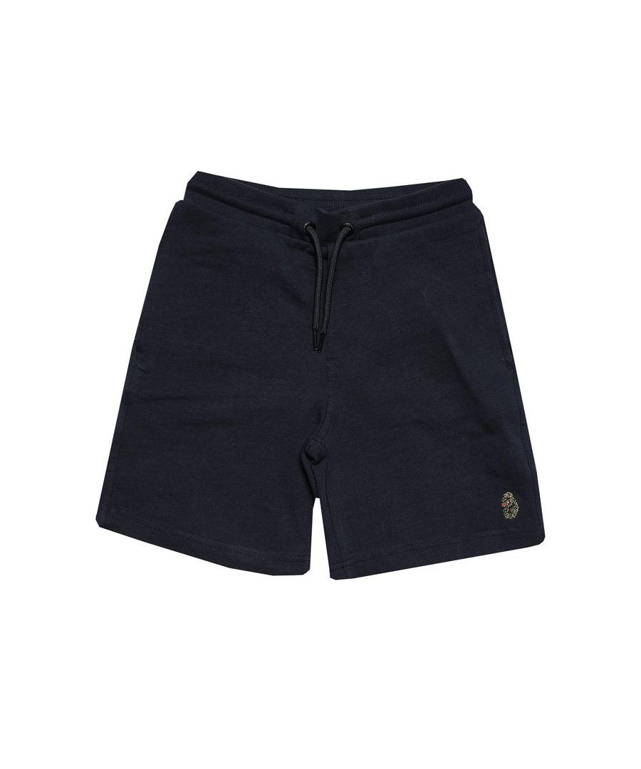 Image for Boys' Luke 1977 Infant Get Shorty Jog Shorts in Navy
