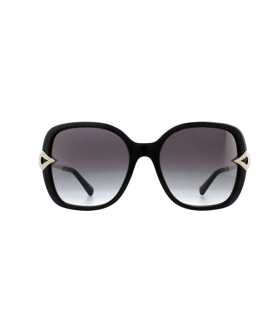Image for Bvlgari Sunglasses BV8217B 501/8G Black Grey Gradient