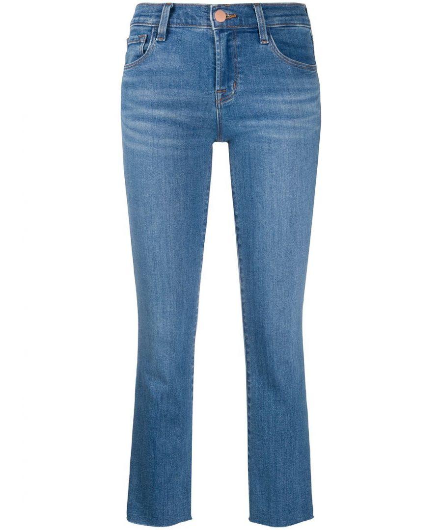 Image for J BRAND WOMEN'S JB001916CJ43410 BLUE COTTON JEANS