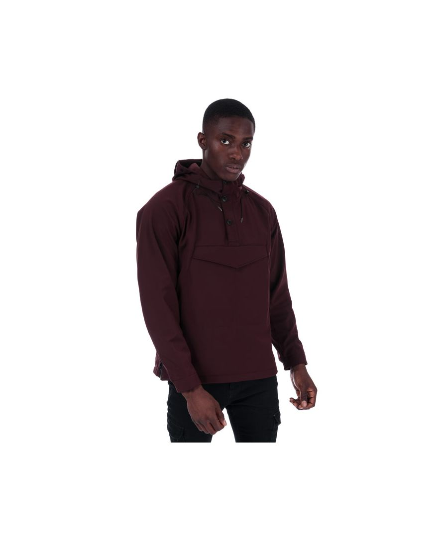 Image for Men's C.P. Company CP Medium Overhead Shell Jacket in Burgundy
