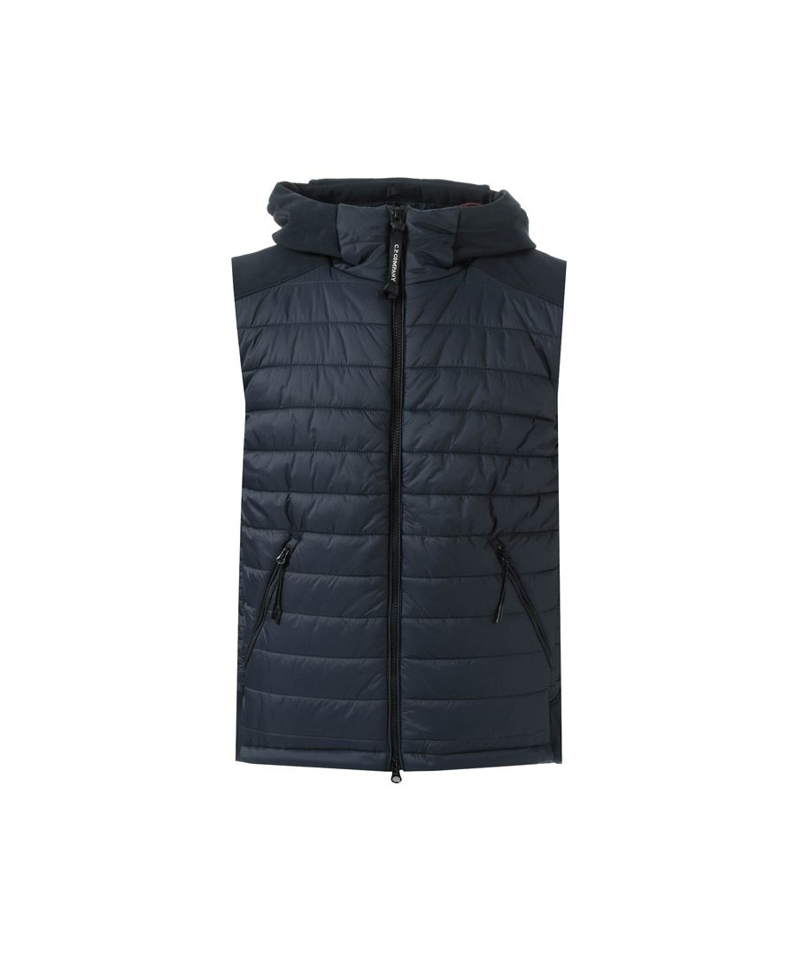 Image for Men's C.P. Company Soft Shell Gillet in Navy