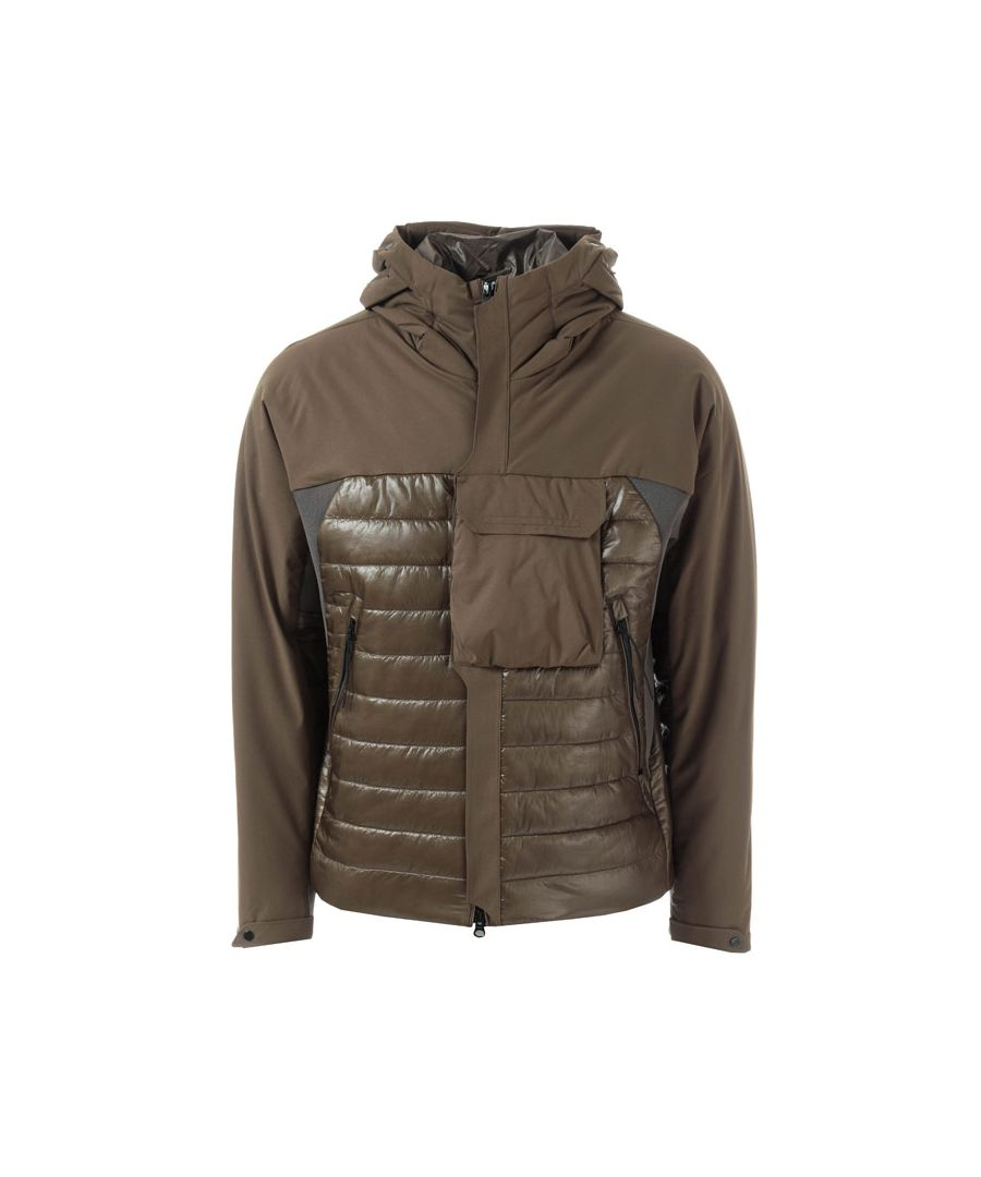 Image for Men's C.P. Company Half Shell Padded Jacket in Green