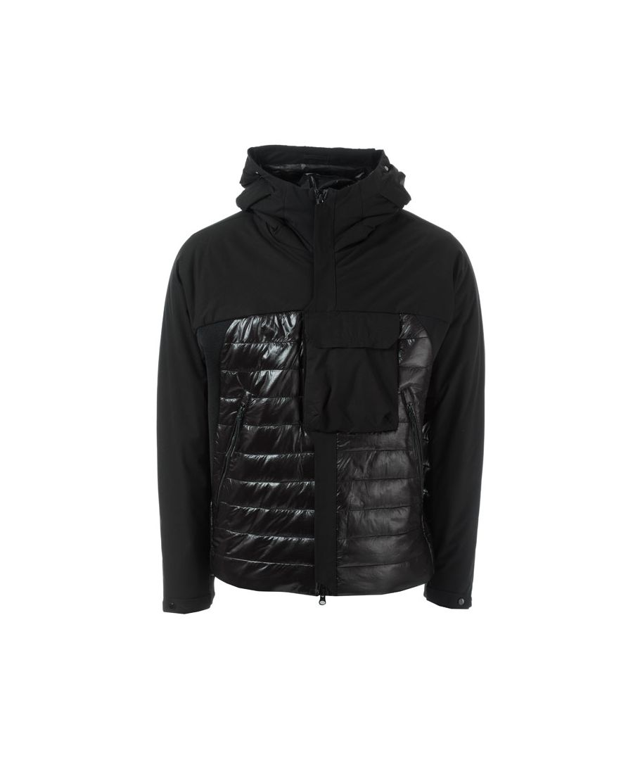 Image for Men's C.P. Company Half Shell Padded Jacket in Black