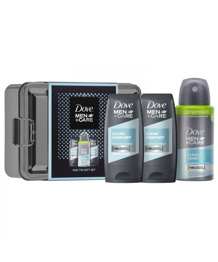 Image for Dove Men Care Mini Tin Gift Set
