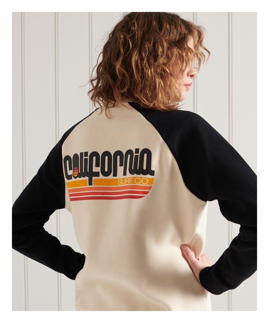 Image for Superdry Cali Surf Crew Sweatshirt