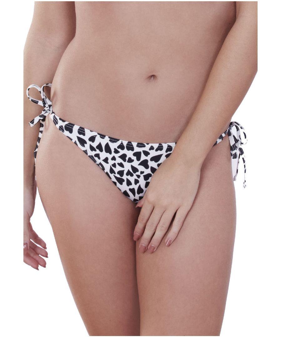 Image for Big Heart Tie Side Bikini Brief