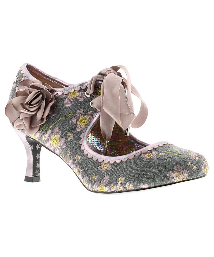 Image for Joe Browns Couture orla womens ladies heels court shoes grey