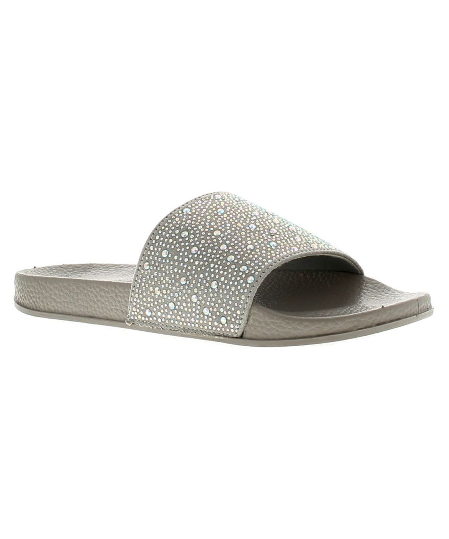 Image for Comfort Plus Gia Womens Ladies Jelly Sandals Grey