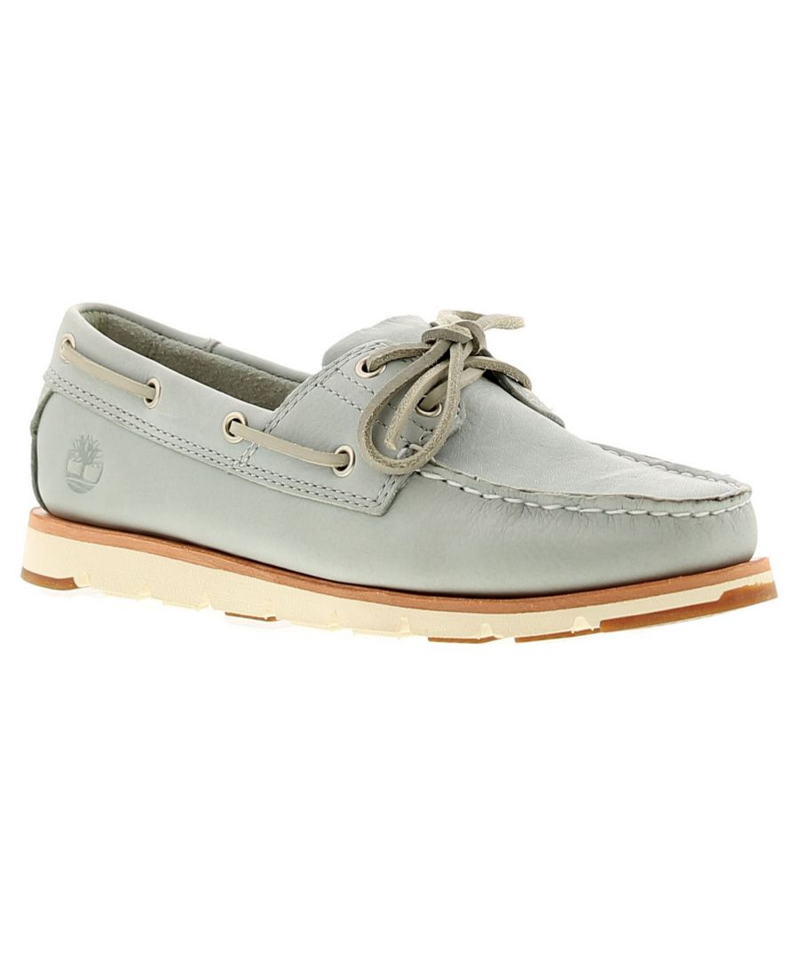 Image for Timberland Tmbl A1Kkm Womens Ladies Flats Shoes Grey