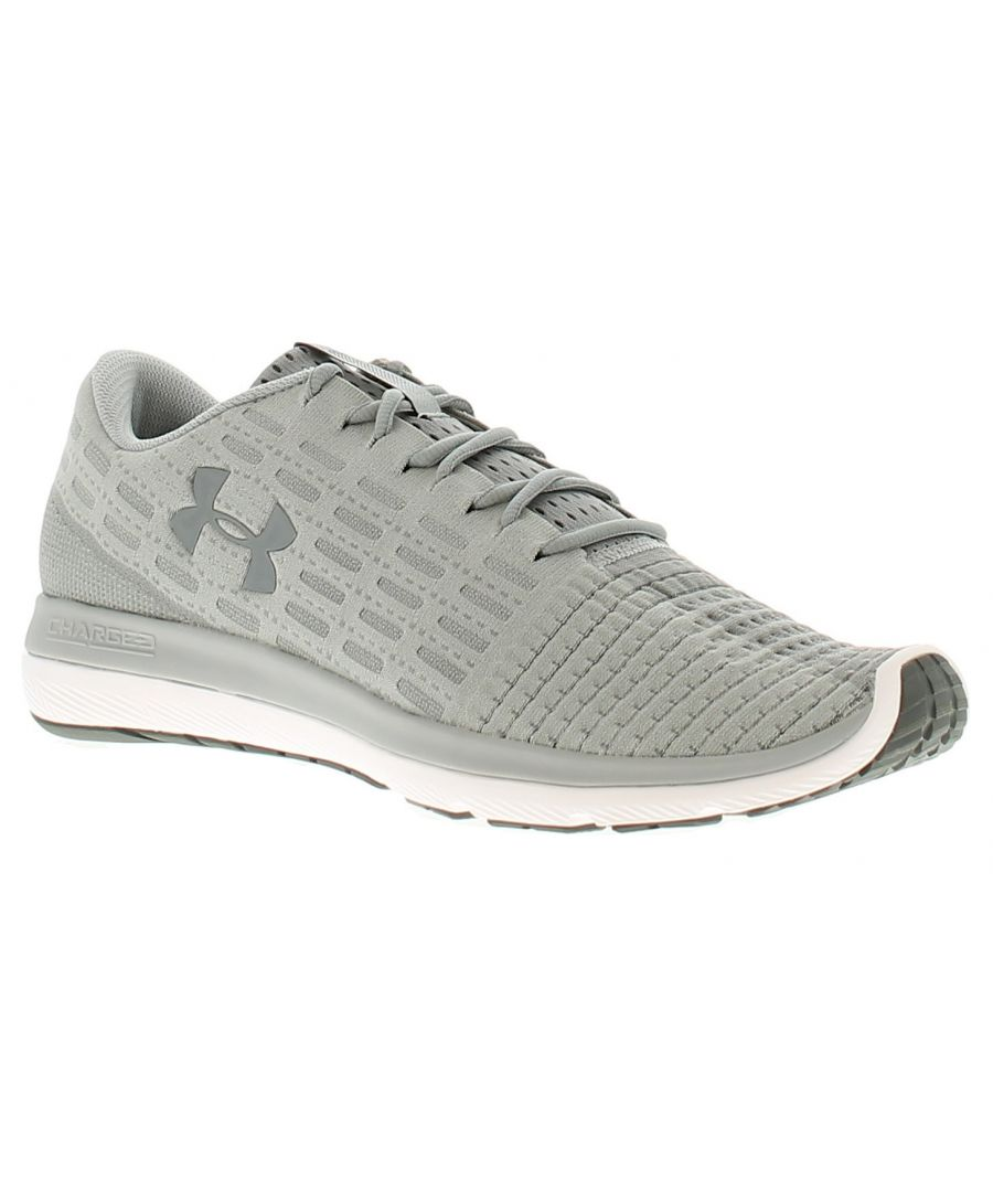 Image for Under Armour ua slingflex mens trainers grey/white