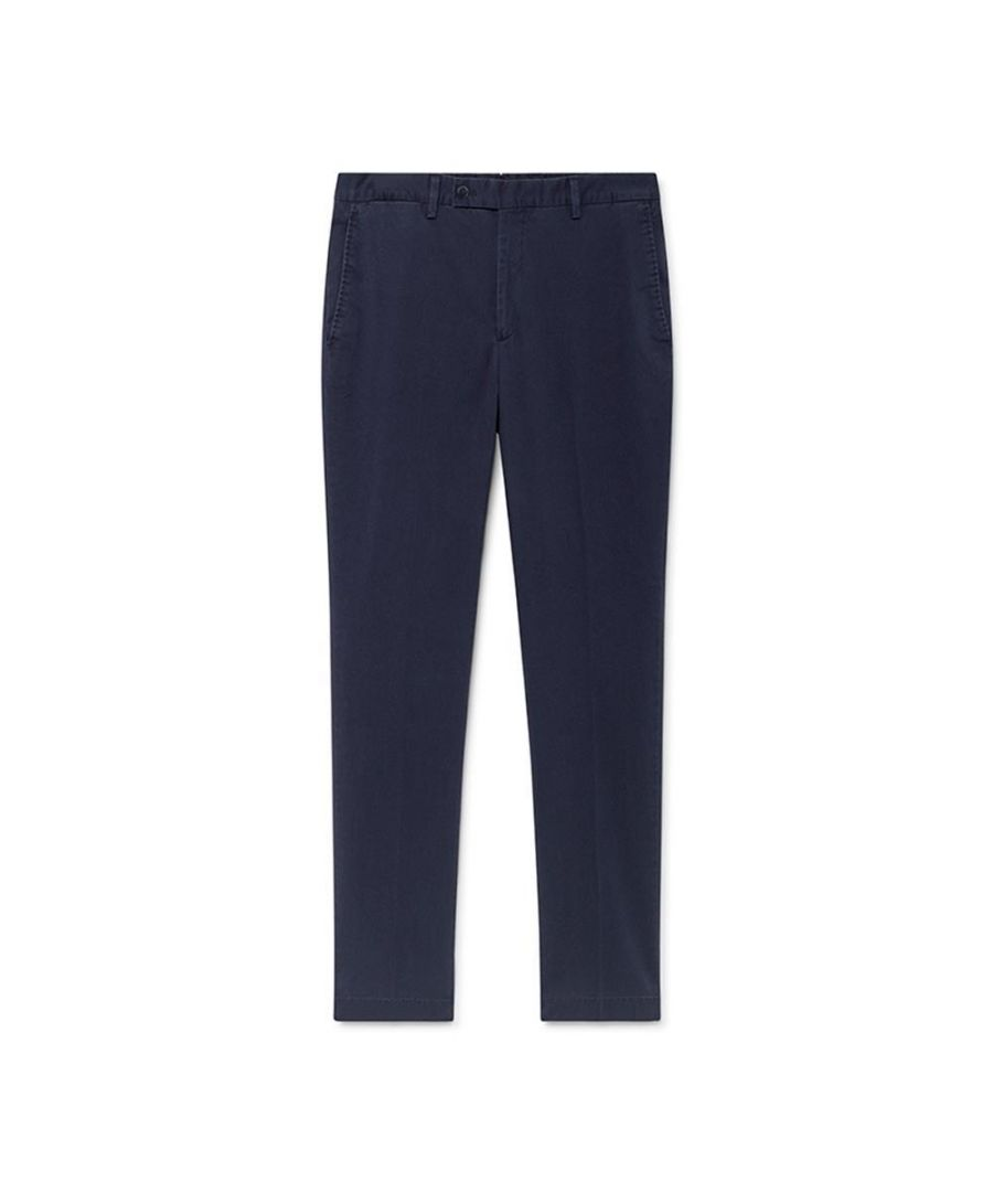 Image for Men's Hackett, Stretch Cotton Cord Trousers in Navy