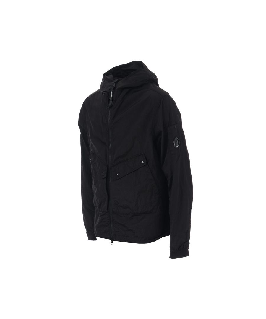 Image for Men's C.P. Company M.T.t.N Garment Dyed Jacket in Black