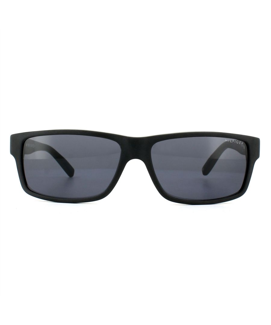 Image for Tommy Hilfiger Sunglasses TH 1042/N/S 807 IR Black Grey