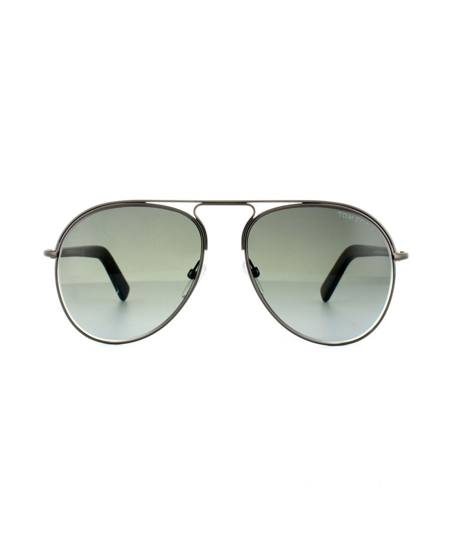 Image for Tom Ford Sunglasses 0448 Cody 08B Shiny Anthracite Grey