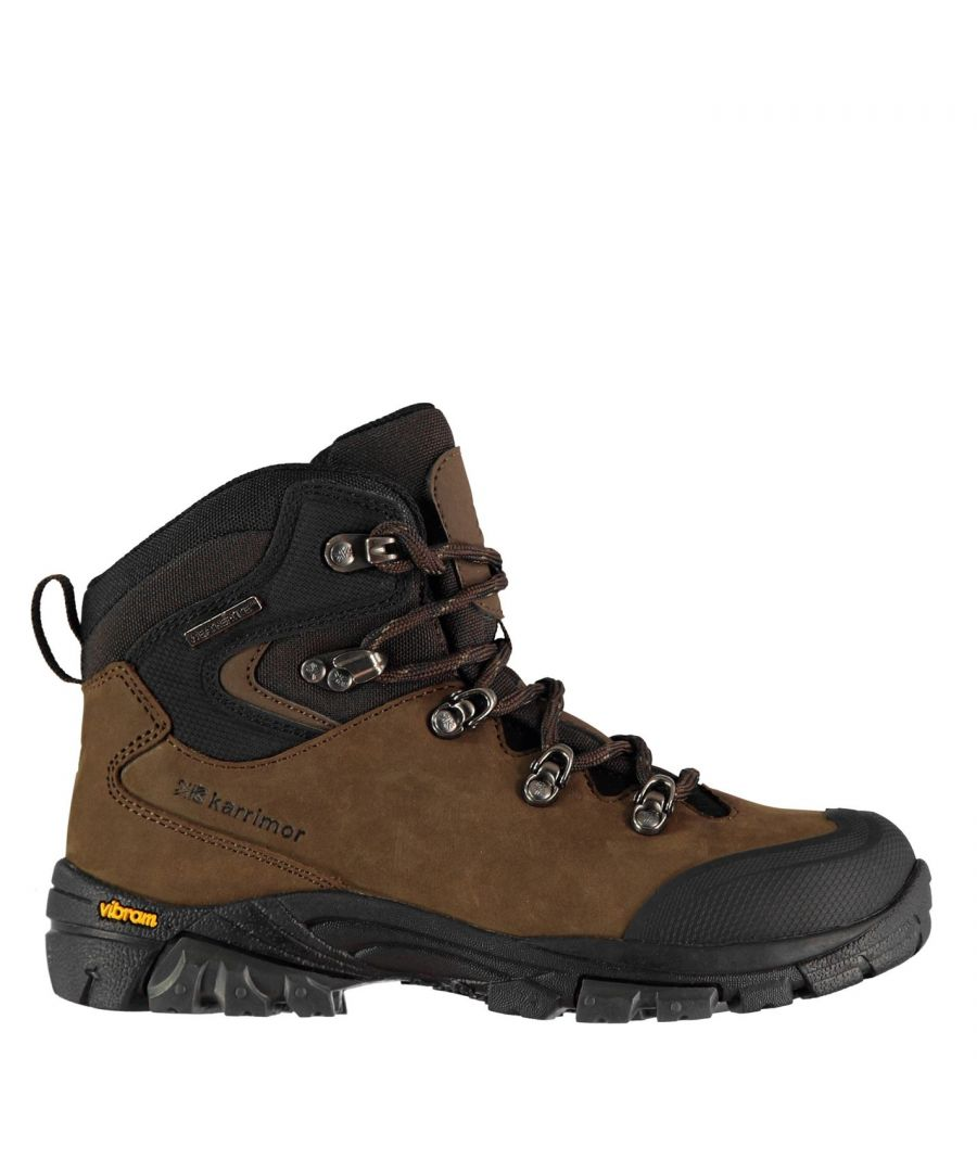 Image for Karrimor Cheetah Youngster Walking Boots Boys Laces Fastened Ventilated Water