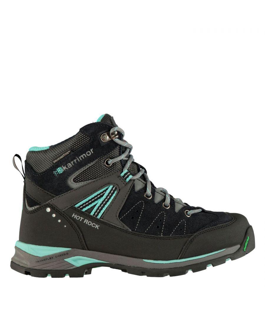 Image for Karrimor Kids Hot Rock Junior Walking Boots Breathable Hiking Shoes Outdoor